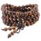Shanxing, braccialetto o collana buddista Mala, con 108 perline per preghiera, in legno ti...