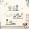 Adesivi Murali Topgrowth DIY Cactus Removibile Sticker Adesivo da Parete Adesivo Casa Fami...