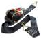 Cinghia a cricchetto di ancoraggio avvolgibile con gancio 3m 50mm