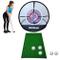 KIKILIVE Rete da golf per allenamento,Set da golf ,Attrezzatura da allenamento da Golf, re...