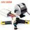 L-faster 24 V 36 V 350 W Motore Elettrico DC Skateboard Elettrico Kit Motore 350 W Fai da...