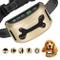GoPetee Collare Antiabbaio Cane con Luce LED Suono & Vibrazione Fochea con 7 Livelli Regol...