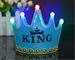 Oft - Corona principessa/principe, diadema, copricapo per festa di compleanno, con lucine...