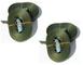 Iapyx® Duo250 - 4 cinghie di fissaggio con chiusura a morsetto, lunghezza: circa 2,5 m (po...
