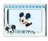Disney Topolino Mickey Mouse - Cornice Porta Foto da Tavolo in Argento per Neonato Persona...