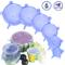 Coperchi elastici in silicone Coperchio flessibile riutilizzabile per alimenti da 6 confez...