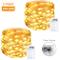 Litogo Luci LED Batteria [2 Pezzi], [Timer] Catena Luminosa 10m 100 LED Filo Rame Ghirland...