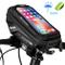 WACCET Borsa Manubrio Bici Impermeabile Porta Smartphone Bici con TPU Touch Screen, Porta...
