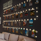 Luci Per Foto,Litogo 10M 100LED Lucine Led Decorative Per Camere Filo Per Foto Con Mollett...
