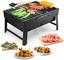 Uten Barbecue Carbone Portatile, Grill Barbecue Carbone Griglia Barbecue per 3-5 Persone C...