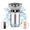 Linkax Set di scarico universale Valvola Pop-up Valvola di Scarico per Lavabo Piletta Scar...
