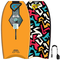 Flood Dynamx Stringer 40 - Bodyboard, Motivo Tribale, Colore: Arancione