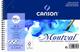 """'Canson Blocco a spirale AQ Montval Fein Acquerelli, 300G/MQ, 12fogli per blocco""""spirale..."""
