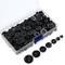 400 Pezzi Bottoni Resina Bottoni Rotondo da Cucire Mestiere Bottoni con Scatola di Stoccag...