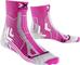 X-Socks Trail Run Energy, Calze Donna, Rosa/Pearl Grigio, 36/36