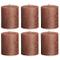 6X rustico candela Metallic Sensation 80/68, Rame