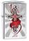 Zippo 28526 Accendino a Benzina, Ottone, Cromato, 5,70 x 3,70 x 1,20 cm