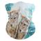 Fazzoletto Animal Wolf Winter Snowflake 25X50Cm Fascia Frontale Bandana Foulard Personaliz...