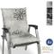 Beautissu Cuscino per sedie da Giardino Floral 100x50x6cm - Extra Comfort - Colori Resiste...