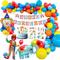 MMTX Carnevale Circo Decorazione Festa di Compleanno, Buon Compleanno Decorazioni Ragazzo...
