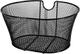 artex 34.54.01 Cestino Bici Anteriore Nero Ovale in Rete Jolly Misure Cm 38x29x18h con Sis...
