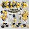 Decorazioni Feste di Compleanno con Banner di Buon Compleanno in Oro Metallizzato, Fornitu...