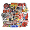 Chileeany 52 Pezzi - Adesivi Valigia, Retro Vintage Stickers per Valigia, Skateboard, Chit...