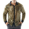 Modaworld Uomo Moda Camicia Autunno Shirt Maniche Lunghe Paillettes Camicetta in Night Clu...