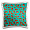 Rewards4life Gifts - Vintage Roses Pattern on Teal - 16x16 inch Pillow Case (pc_128241_1)