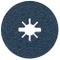 Bosch Professional Disco Abrasivo in Fibra per Metallo, X-Lock, R574, Ø 125 mm, Grana 24,...