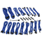 BitFenix Kit Cavo PSU Alchemy 2.0, Serie DPP BQT - Blu