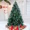 amzdeal Albero di Natale Innevato 180cm Albero di Natale Artificiale Innevato Bianco Natur...