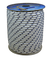 Corderie Italiane 006006022 Corda Nautica, 6 mm, 100 Metri, Bianco con Segnalino Blu