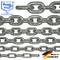 200-cm = 2-metri 6-mm di spessore catena in acciaio inossidabile inox V4A a maglia corta d...