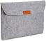 AmazonBasics - Custodia a guaina in feltro, per laptop 15,4 Pollici (39 cm), Colore: Grigi...