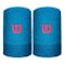 Wilson, Extra Wide Schweißband-Hellblau, Rot, nosize, Bande tergisudore. Unisex-Adulto, Az...