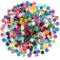 400 Pezzi/ 300 g Colori Assortiti Mosaico Piastrelle Glitter Mosaico di Cristallo Decorazi...