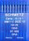 Schmetz, 10 aghi con testa rotonda per macchina da cucire, sistema 134(R) Industriale, mi...