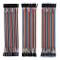 ELEGOO 120pcs 3 in 1 Kit Cavetti Jumper Filo Dupont Multicolore Wire 28AWG Cavi 40 pezzi d...