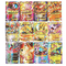 Cortneyrs Pokemon Card, Pokemon Flash Card, Pokemon Card, Carta per Bambini, 60 Carte GX C...