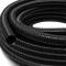 """Wiltec Tubo per Laghetti 25mm (1"""") Flessibile Nero Resistente ai Raggi UV"""