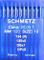 Schmetz, 10 aghi con testa rotonda per macchina da cucire industriale, sistema 134(R), sp...
