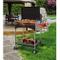 Famur Barbecue a Legna con Griglia in Acciaio BK 8 Elite