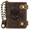 Greenburry - Portafoglio, colore: marrone cuoio, 12,5 x 3 x 10 cm
