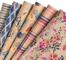 RUSPEPA Foglio Di Carta Da Imballaggio Kraft - Disegno A Pennello Fiori/Foglie/Geometria F...