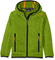 CMP Knit Tech 3H60844, Giacca di Pile Bambino, Verde (Lime Green/Antracite), 176 cm