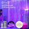 Stringhe per tende da finestra 300 luci da fiaba a LED, luci stellate scintillanti 3 x 3 m...