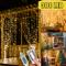 Tenda Luminosa - Luci da Esterno Giardino, 3M 300LED Luci Led Decorative per Natale 8 Moda...