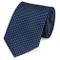 Fabio Farini - Elegante cravatta da uomo a scacchi in 8cm di larghezza in diversi colori p...