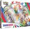 Pokemon TCG: Sword & Shield Figure Collection | 4 Pacchetti Booster | 1 Carta Full Art con...